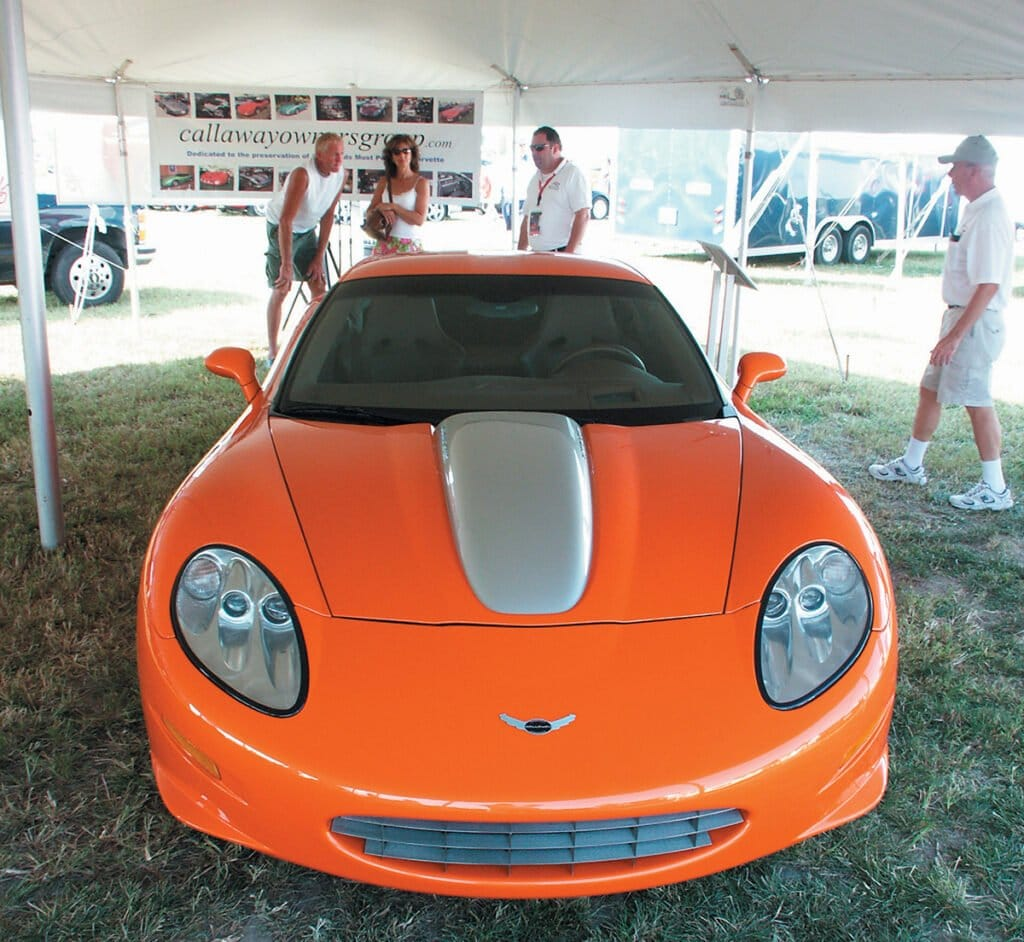 Callaway Display at Corvettes at Carlisle 2007