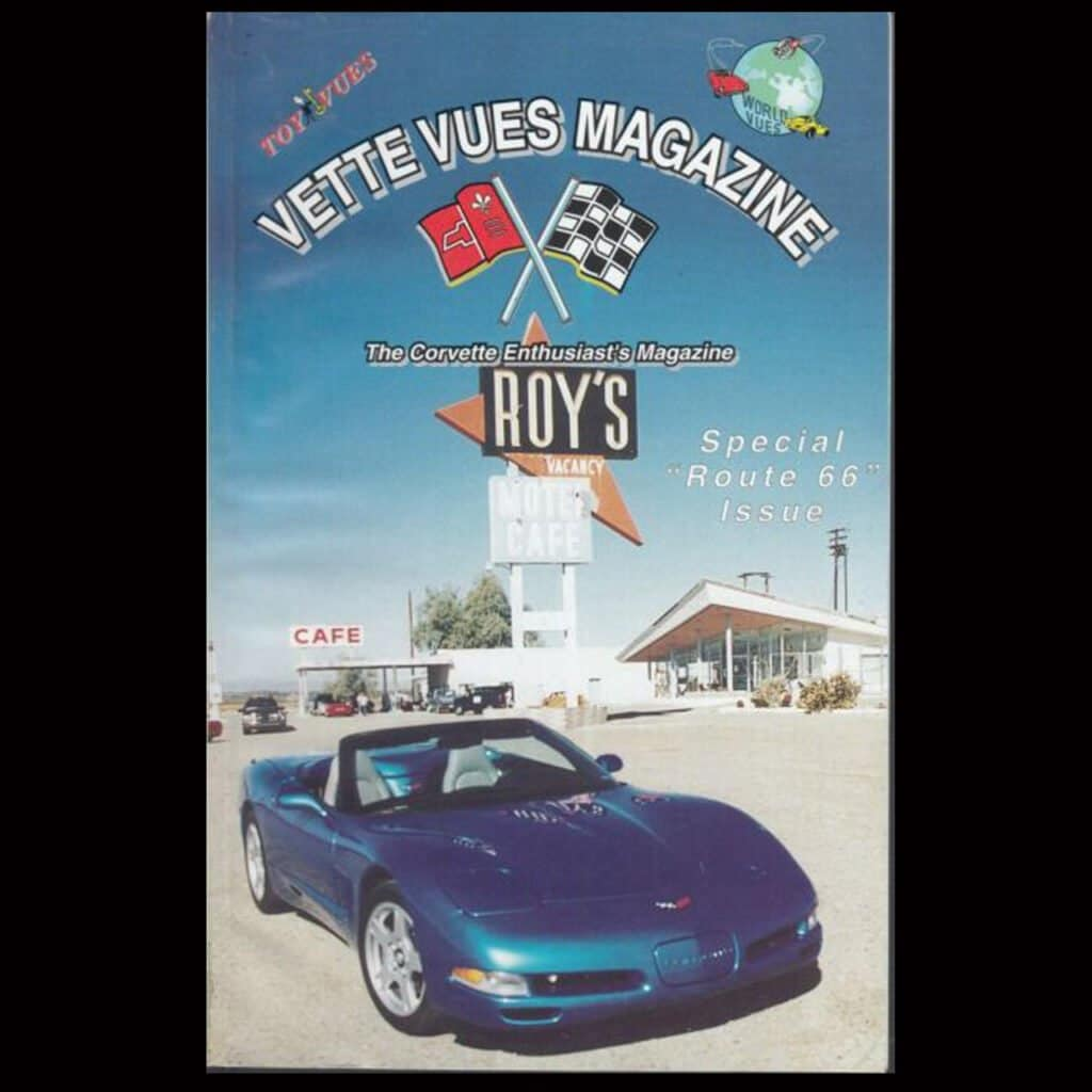 1998 Corvette Convertible Returns to Route 66