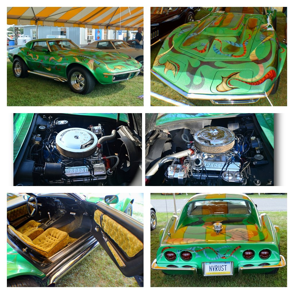 Kevin Livering's Groovy  Seventies' Custom  1969 Corvette Survivor