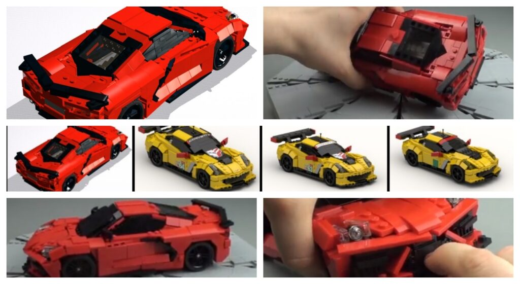 How to Build a C8 LEGO Corvette
