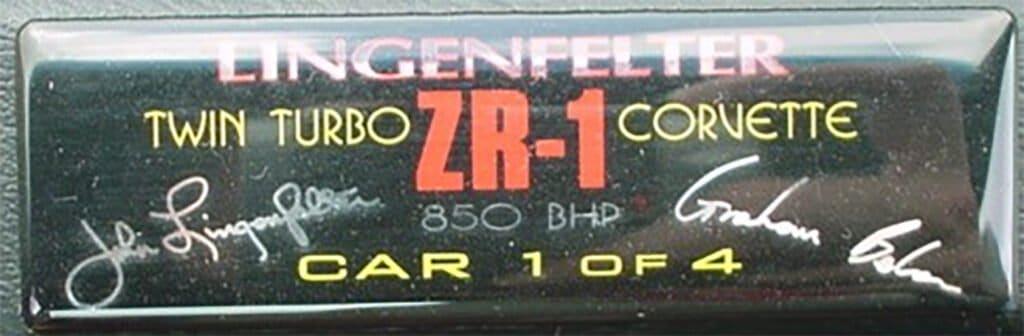 Lingenfelter Twin Turbo ZR-1 Corvette