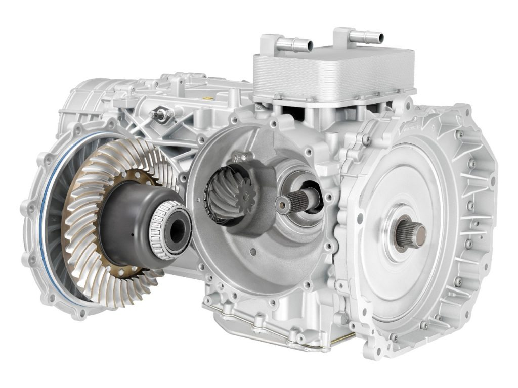 Corvette's first eight speed dual-clutch transmission