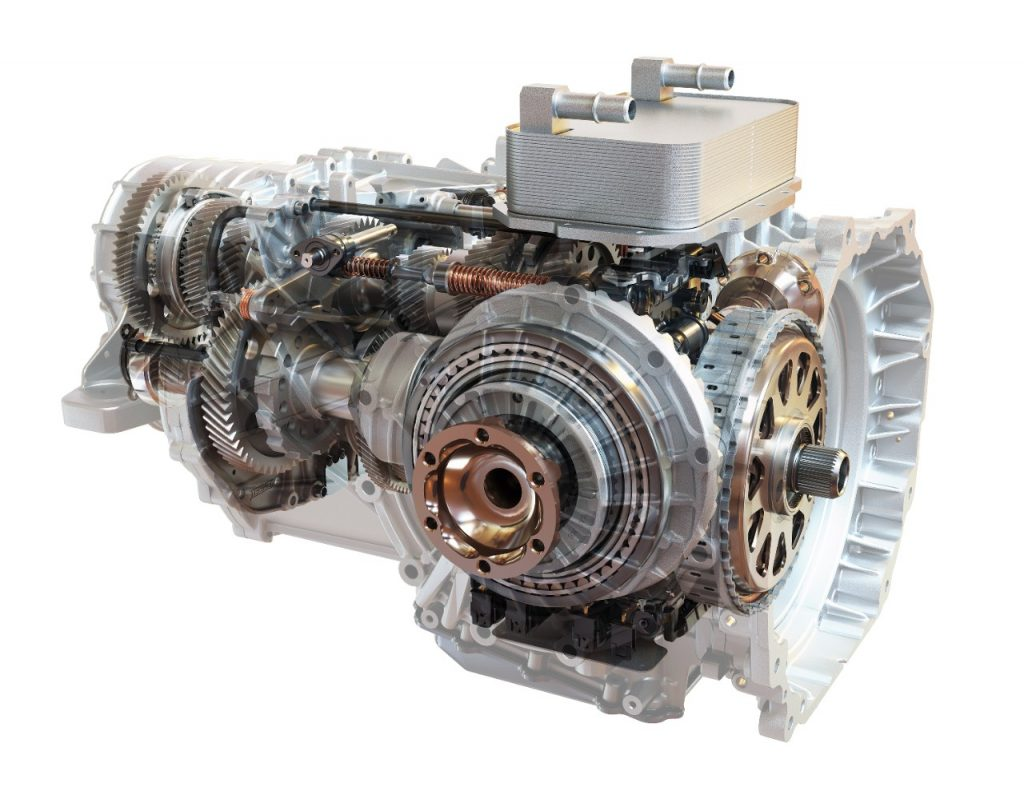 Corvette's first eight speed dual-clutch transmission (Photo courtesy of TREMEC)