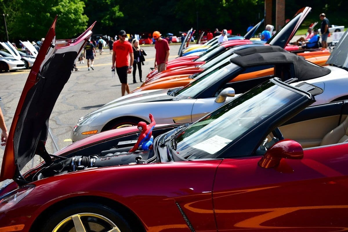 Americas Corvette Club Presents Check for $7,000 to SCAMP Charity