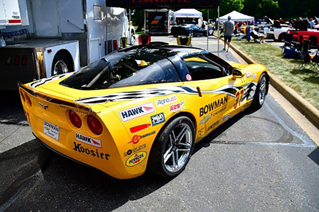Danny Kellermeyer was there with his D.J.Racing Corvette