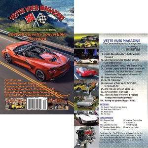 DECEMBER 2019 BACK ISSUE VETTE VUES MAGAZINE