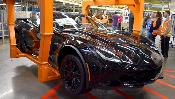 Last 2019 C7 Corvette Rolls off Production Line