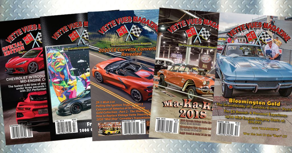 Subscribe to Vette Vues Magazine