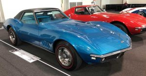 1968 Corvette L89 Convertible # 03554 owned by James Carrell, Naples, FL on display in the 2019 Bloomington Gold Special Collection.