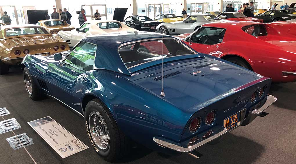Our next 1968 Corvette has the L79 engine. It too is a convertible and is # 04235. Gene & Susan Manno are from Ontario, NY.