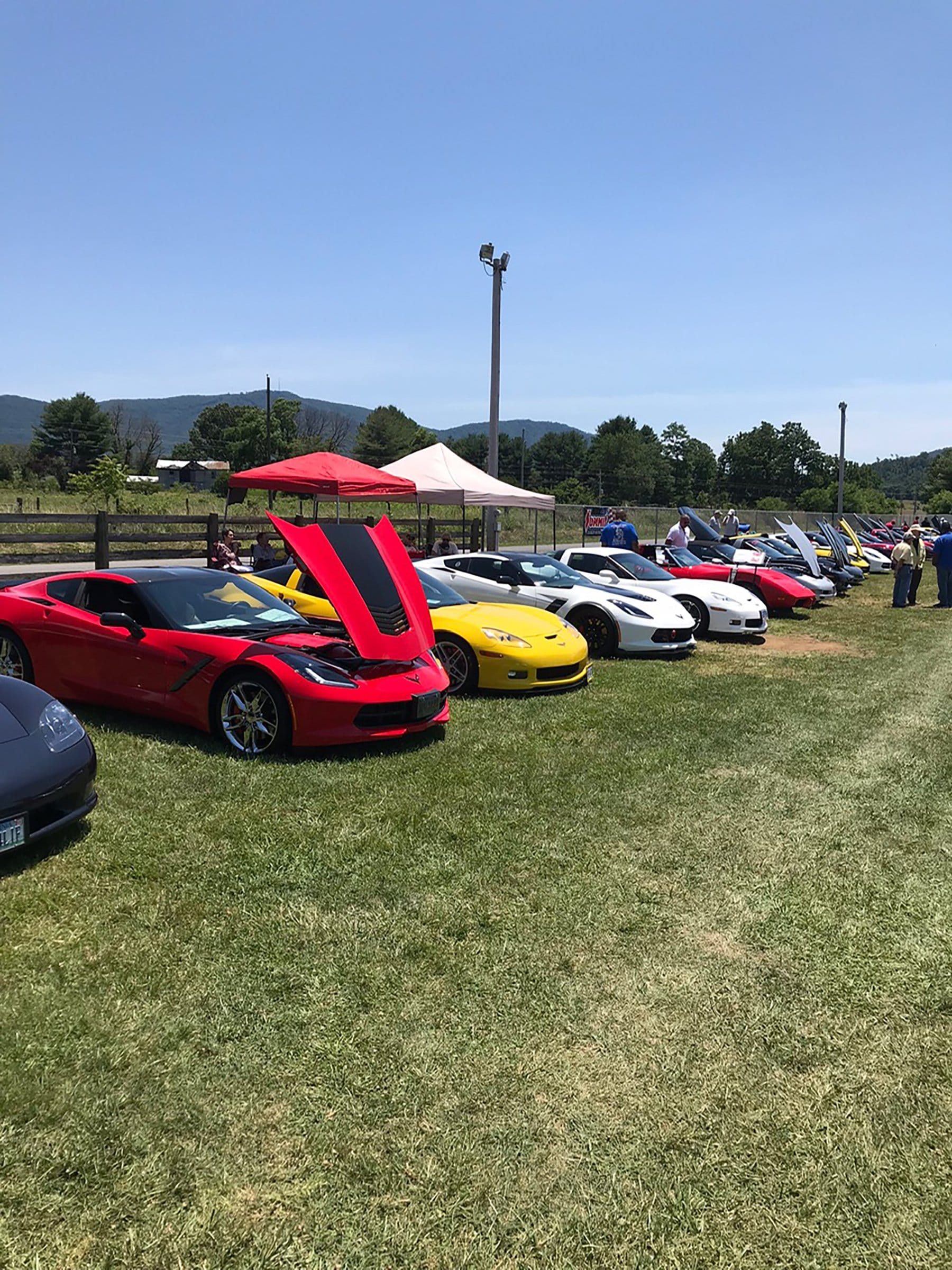 On June 15th, 2019, the Virginia Corvette Club hosted the Vettes at Sedalia, an all Corvette Cruise-In. Robert Anderson got us some photos to enjoy.