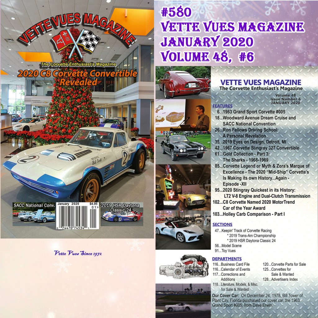 January 2020 Issue Vette Vues Magazine