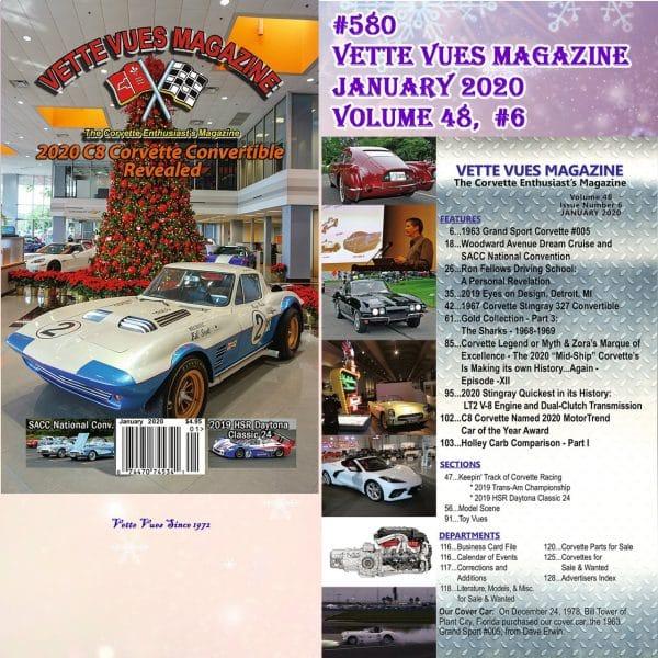 January 2020 Issue Vette Vues Magazine