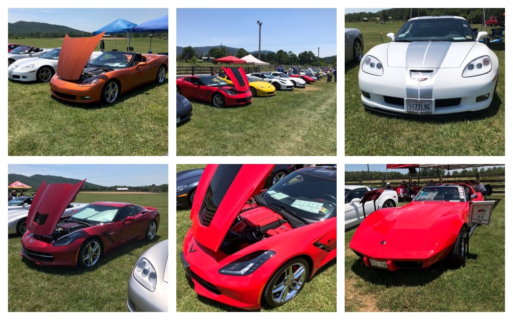 Participants of the all Corvette cruise enjoyed a selection of Food Trucks, Live DJ, Corn Hole, and great camaraderie with different Corvette Clubs.