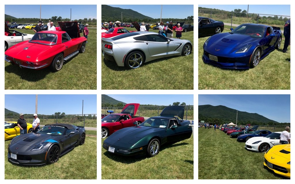 The Virginia Corvette Club puts on the Vettes at Sedalia, all Corvette Cruise-In once a year.