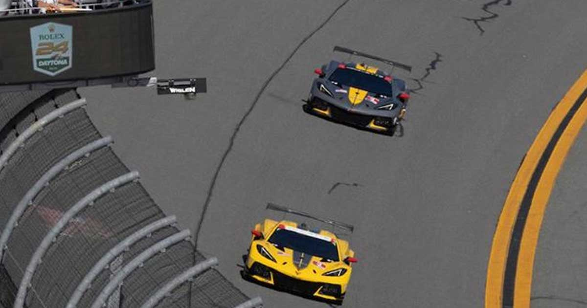New C8.R's Debute Race Results – Daytona 2020