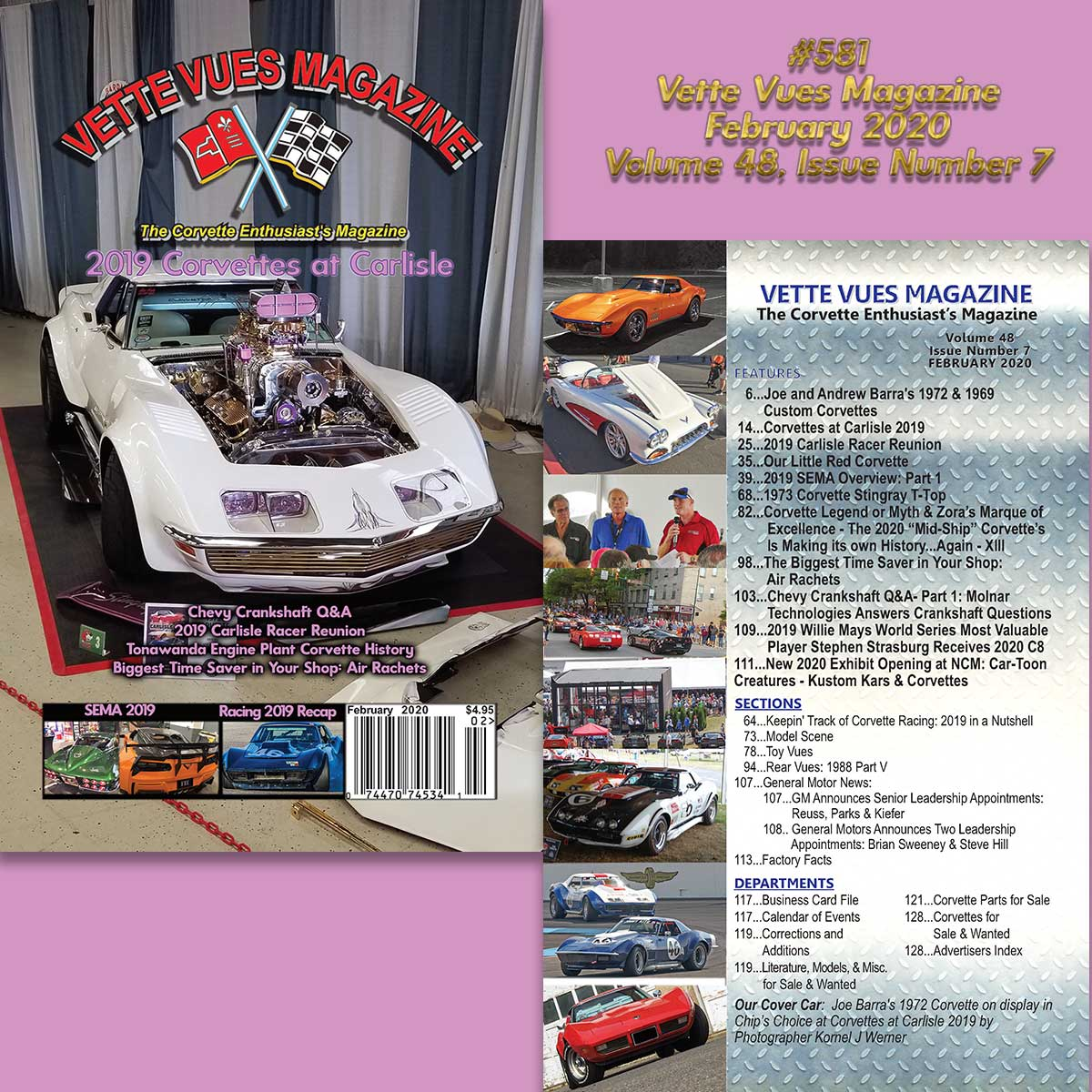 Vette Vues Magazine, February 2020, Volume 48, Issue Number 7