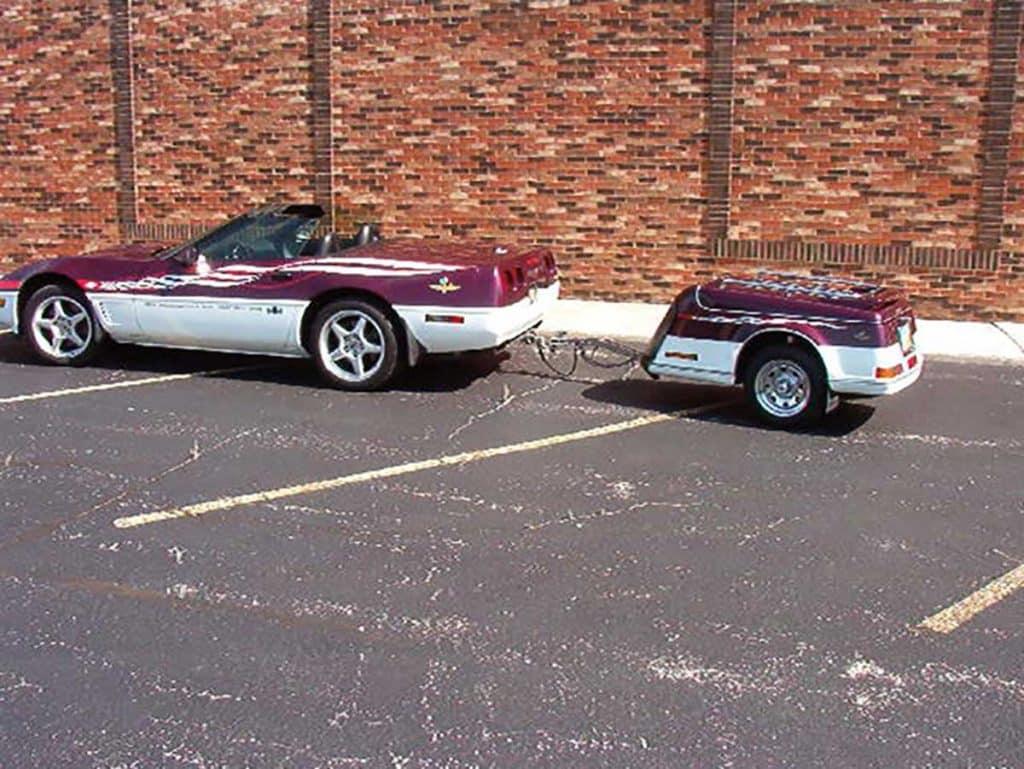 1995 NCCG Corvette Raffle Car Third Owner 77K miles Excellent Condition $24K and Escapade Trailer with matching Vette Paint Scheme $5.8K 419-283-4978 Glen (CC)