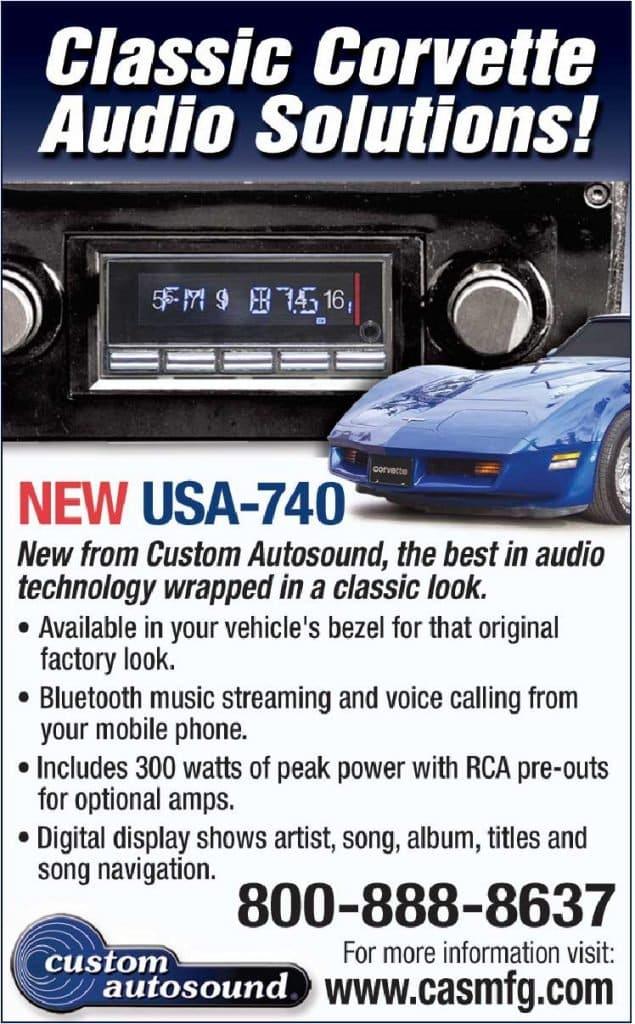 Custom Autosound - Classic Corvette Audion Solutions
