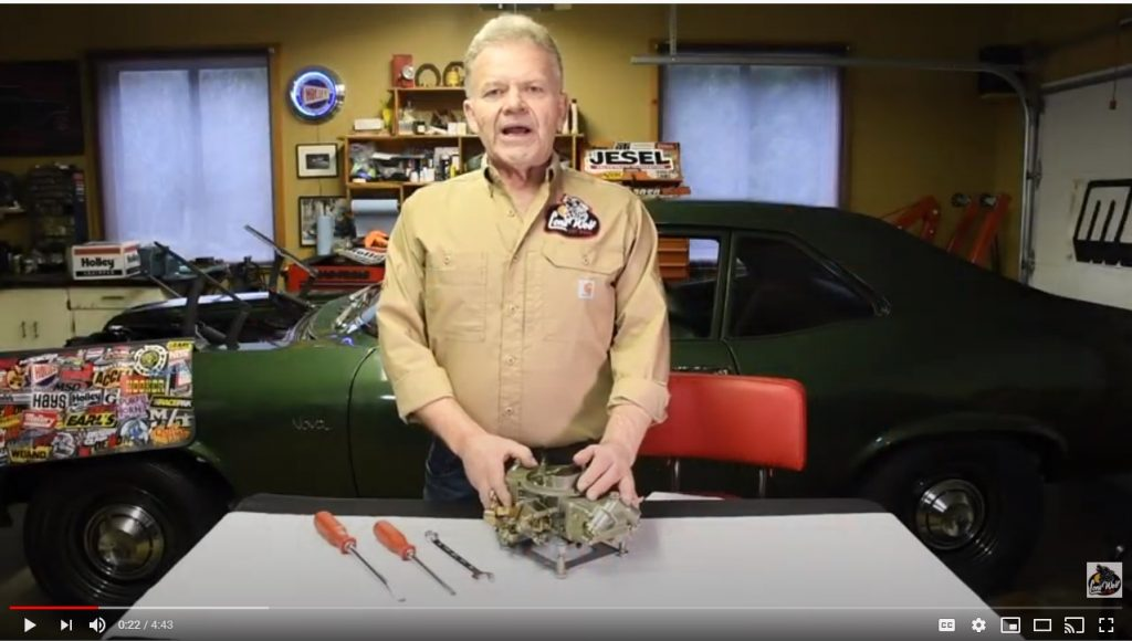 We have two videos by Wayne Scraba on How-to adjust the Holley Carburetor.
