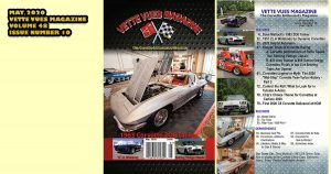 Vette Vues Magazine, May 2020, Volume 48, Issue Number 10