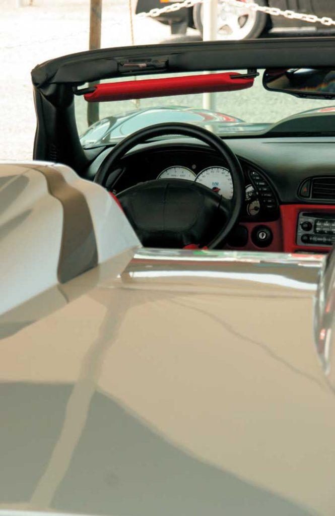 1998 Callaway C12 Speedster Interior
