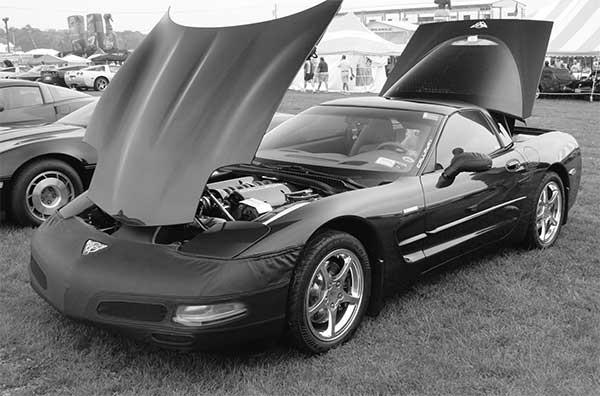2006 C6 Black R&D car 25-05228