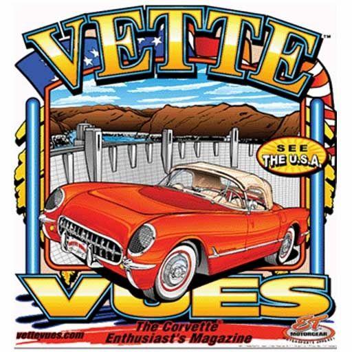 C1 Corvette at Hoover Dam Shirt
