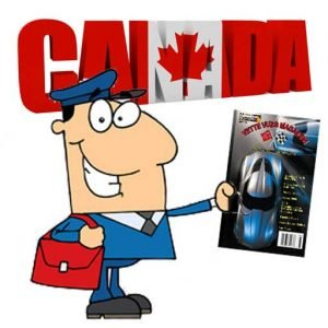 1 YEAR CORVETTE MAGAZINE SUBSCRIPTION (12 ISSUES) CANADA SUBSCRIPTION