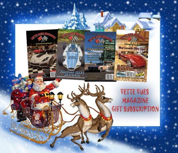 Corvette Magazine Gift Subscription