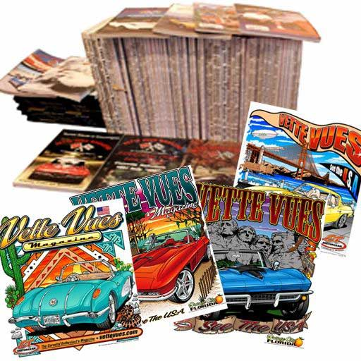Combo Special: 12-Issues Magazine Plus Corvette T-Shirt