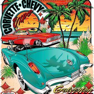 Corvette Chevy Expo Event Shirt