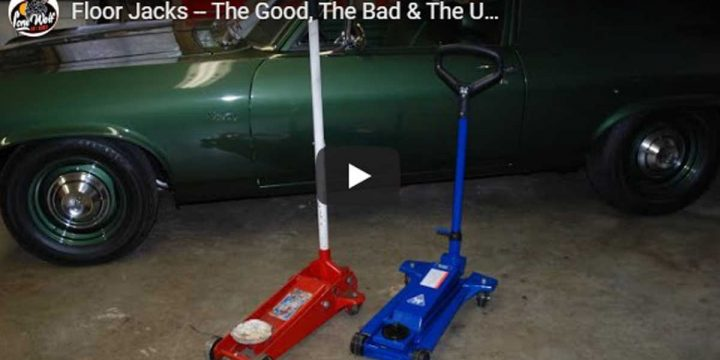 Floor Jacks — The Good, The Bad & The Ugly