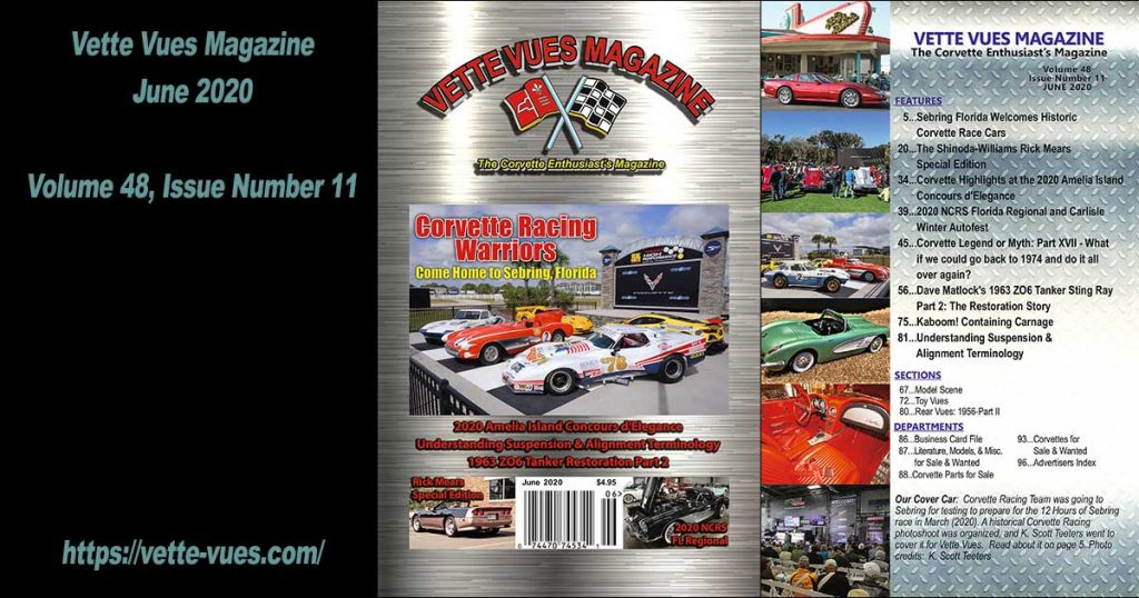 Vette Vues Magazine June 2020 Issue