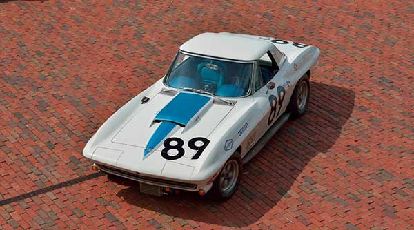 Cliff Gottlob's 1967 427 L88 Corvette Race Car Photos Courtesy of Mecum Auctions, Inc