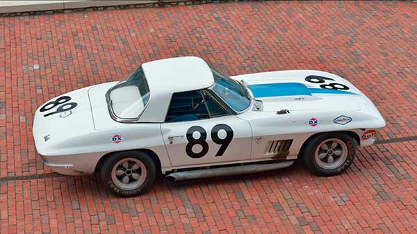 Cliff Gottlob's 1967 427 L88 Corvette Race Car Photos Courtesy of Mecum Auctions, Inc
