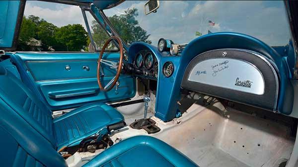 1967 L88 Corvette Interior Photos Courtesy of Mecum Auctions, Inc