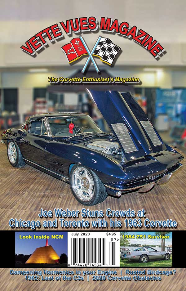 Vette Vues Magazine July 2020 Issue Cover