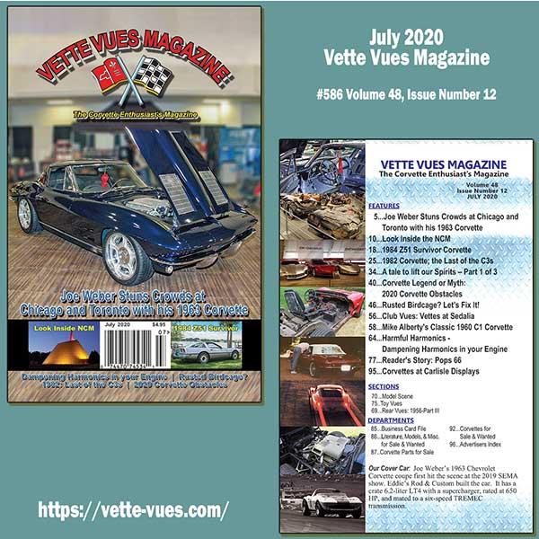 Vette Vues Magazine July 2020