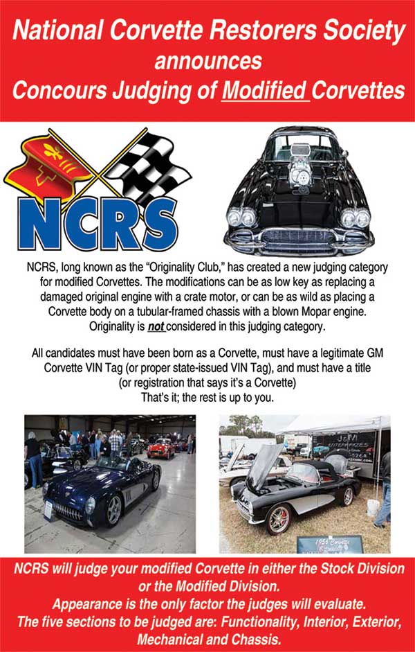 NCRS | National Corvette Restorers Society https://www.ncrs.org/