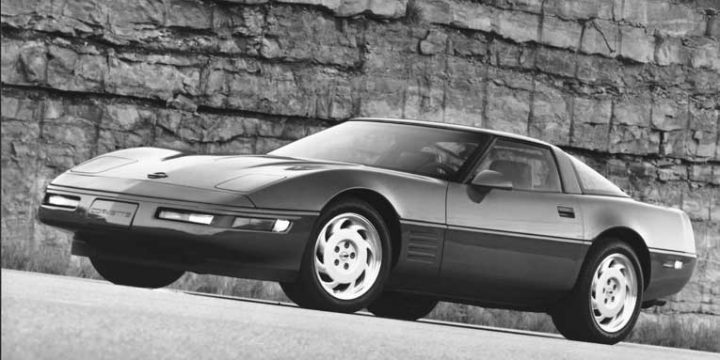1991 Corvette Specifications, Brochure and Press Photos