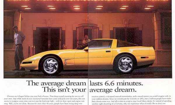 1995 Corvette Magazine Ads