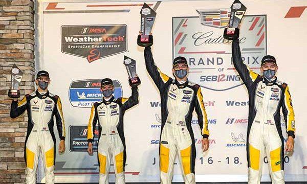 Corvette Racing at Sebring 2020 – 1-2 Wins
