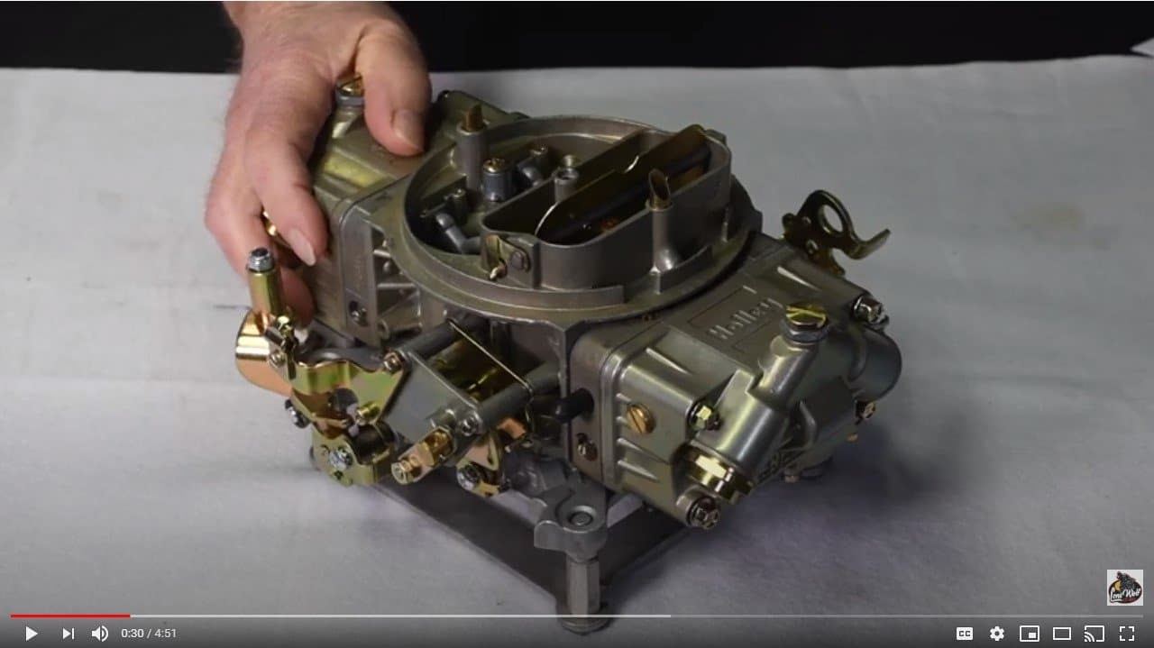 How to Set and Tune Holley Carburetor Idle Mixture and Idle Speed -Video by Wayne Scraba