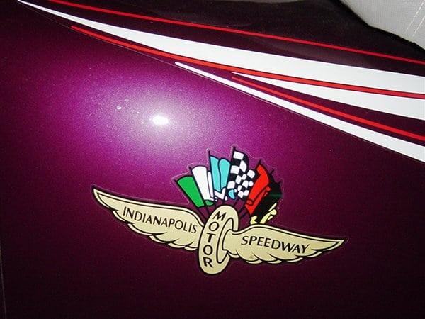 There were special Indianapolis 500 decals that were installed along the doors.