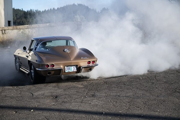 1964 Ballistic Beige Corvette
