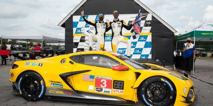 Corvette Racing Wins Three for Three: No. 3 Corvette Gets Third Win of 2020 in IMSA GT Challenge at VIR