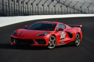2020 Corvette Stingray Official Pace Car for 104th Indianpolis 500