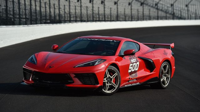 2020 Corvette Stingray Official Pace Car for 104th Indianapolis 500