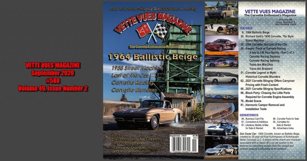 Vette Vues Magazine September 2020